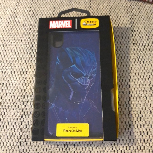 premium selection 02bae acd5f Marvel Black Panther iPhone XS Max case NWT